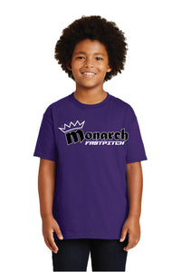 Team Monarch Youth Purple Shirt