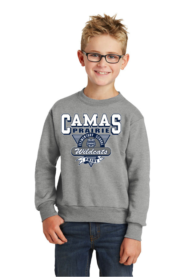 Camas Prairie Youth Crew Sweatshirt