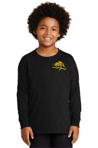 Cedarcrest Middle School Youth Long Sleeve Shirt