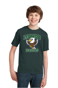 Evergreen Eagles Youth Short Sleeve Shirt