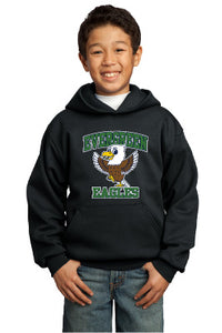 Evergreen Eagles Youth Hooded Sweatshirt