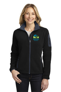 Bethel School District Ladies Enhanced Fleece Full-Zip Jacket