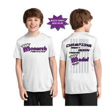 Team Monarch Youth White Performance Shirt