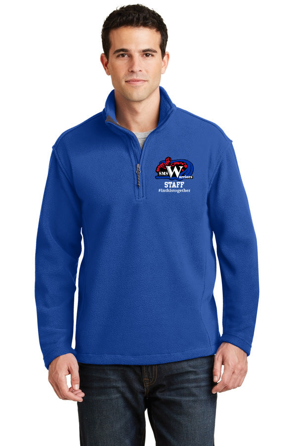 Spanaway Middle School Staff 1/4 Zip Pullover