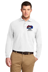 Spanaway Middle School Staff Long Sleeve Polo