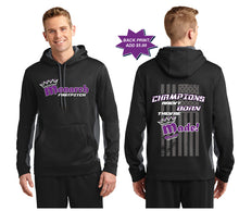 Team Monarch Sport Wick Hooded Pullover