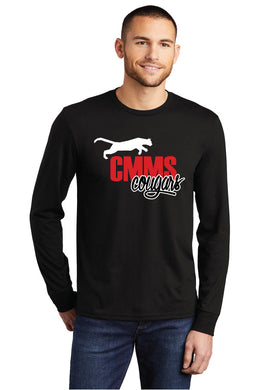 Cougar Mountain Middle School Spirit Long Sleeve Shirt