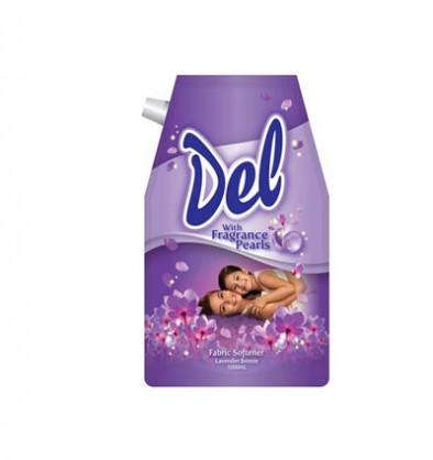 DEL FABRIC SOFTENER LAVENDER BREEZE STAND-UP POUCH 1000ML