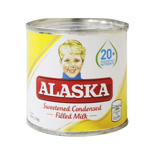 ALASKA SWEETENED CONDENSED FILLED MILK 168ML