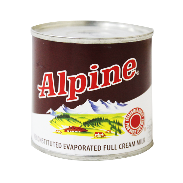 ALPINE FULL CREAM MILK 154ML
