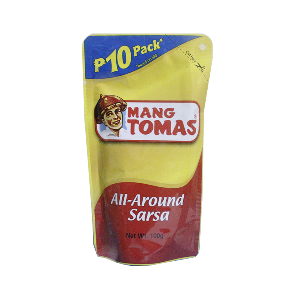 MANG TOMAS ALL AROUND SARSA  BUDGET PACK 120G/100G