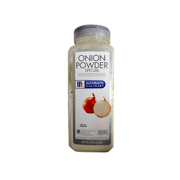 MCCORMICK ONION POWDER SPECIAL 500G