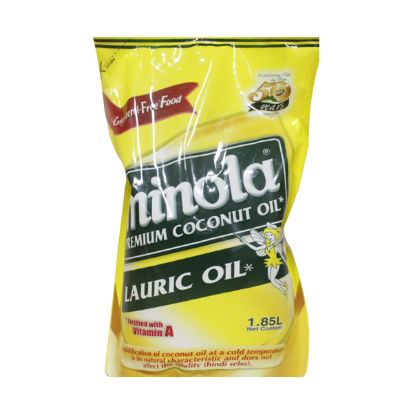 MINOLA COOKING OIL LAURIC OIL 2L/1.85L