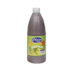 CHOICE BANANA CATSUP 1L