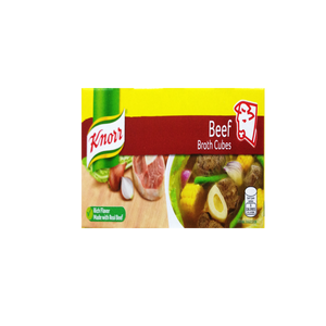 KNORR BEEF CUBE PH 120G