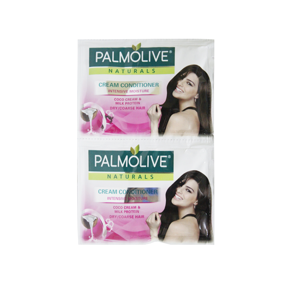 PALMOLIVE NATURALS CONDITIONER INTENSIVE MOISTURE DUAL (PINK) 14MLX6