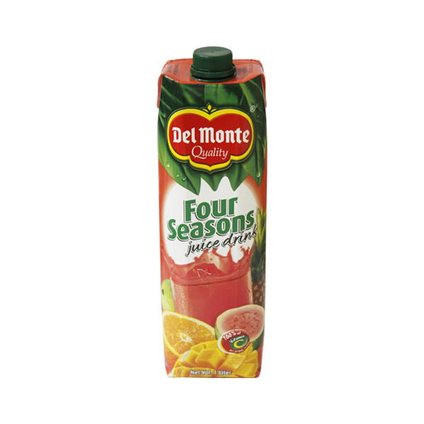 DEL MONTE FOUR SEASONS 100% VITAMIN C JUICE DRINK 1L