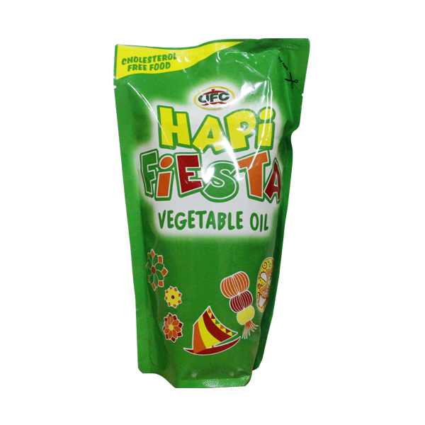 HAPI FIESTA VEGETABLE OIL SUP 1L