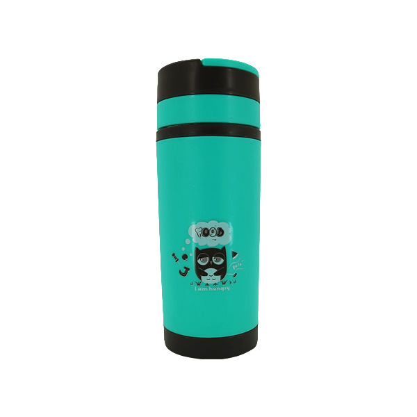 GLASS TRAVEL TUMBLER GREEN