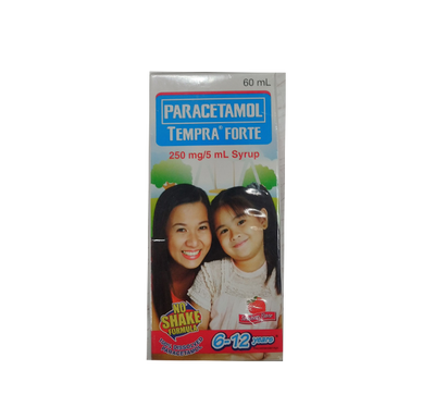 TEMPRA FORTE STRAWBERRY 60ML