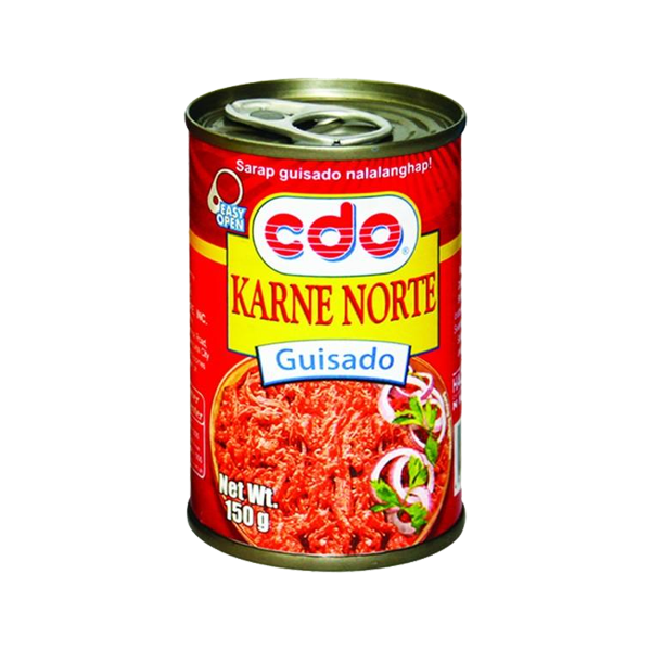 CDO KARNE NORTE PINOY STYLE GUISADO EASY OPEN CAN 150G