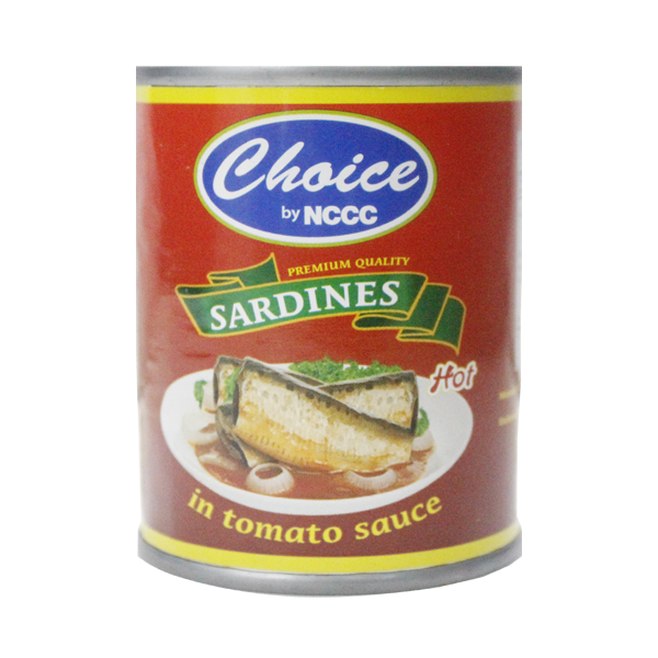 CHOICE SARDINES HOT 130G