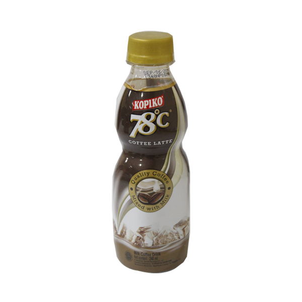 KOPIKO 78°C COFFEE LATTE  MILK COFFEE DRINK 240ML/250ML
