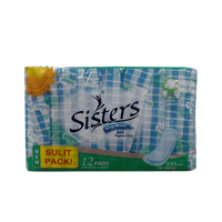 SISTERS SILKFLOSS SINGLES DAY USE NON-WING 12S