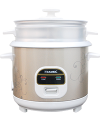 CAMEL RICE COOKER WITH STEAMER 5 CUPS CRC-1001S