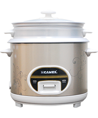 CAMEL RICE COOKER WITH STEAMER 10 CUPS CRC-1802S