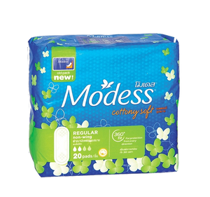 MODESS COTTONY SOFT REGULAR NO WING 20'S  360'FIT