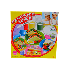 COLOR DOUGH SANDWICH LUNCH