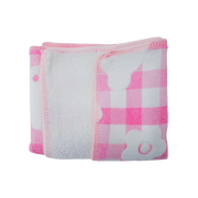 EMBOSS MINI HAND TOWEL PINK