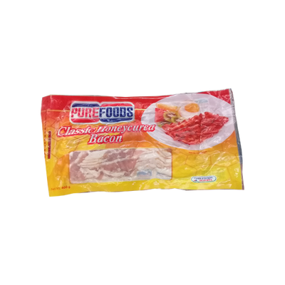 PUREFOODS  CLASSIC HONEY CURED BACON 400G/450G