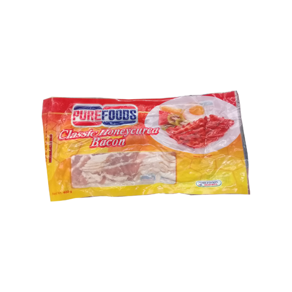 PUREFOODS  BACON HONEY CURED 500G