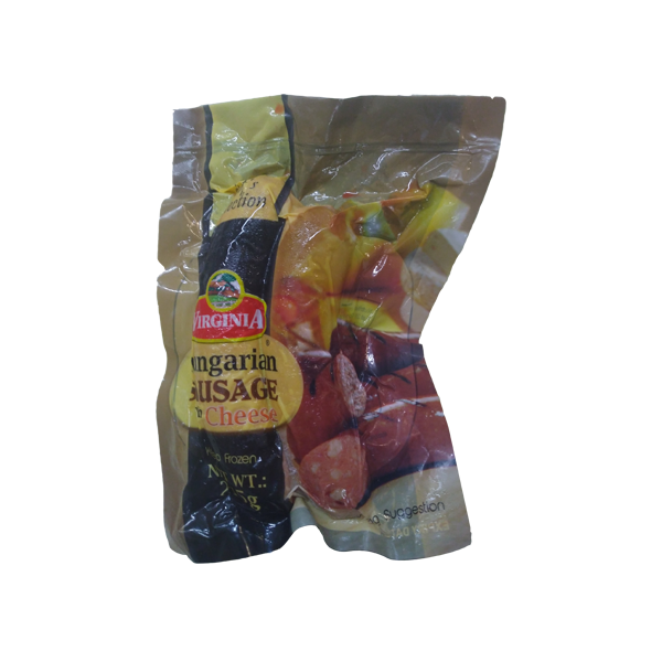 VIRGINIA HUNGARIAN SAUSAGE WITH CHEESE 215G