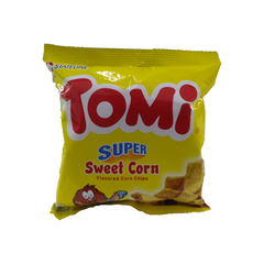 TOMI CORN CHIPS SWEET CORN 25G