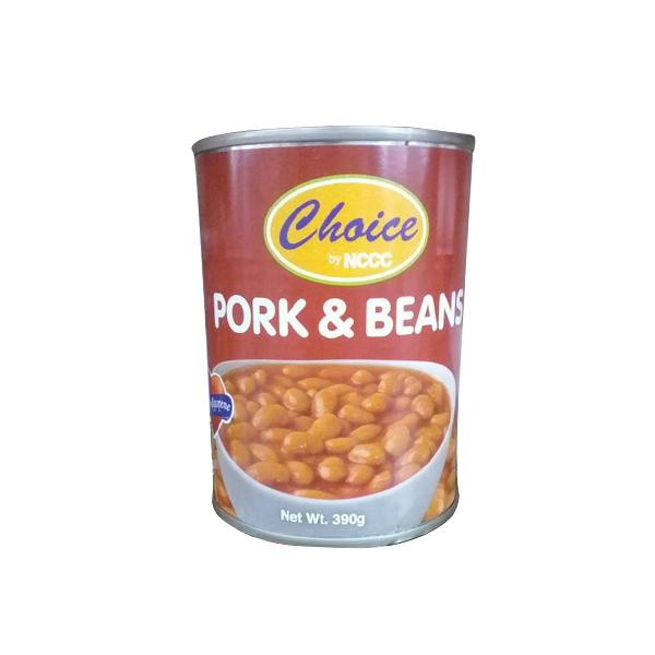 CHOICE PORK & BEANS 390G