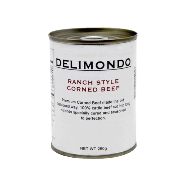DELIMONDO RANCH STYLE CORNED BEEF 260G