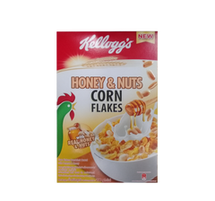 KELLOGGS HONEY & NUTS CORN FLAKES 200G