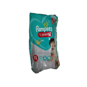 PAMPERS BABY DRY PANTS XL 4S
