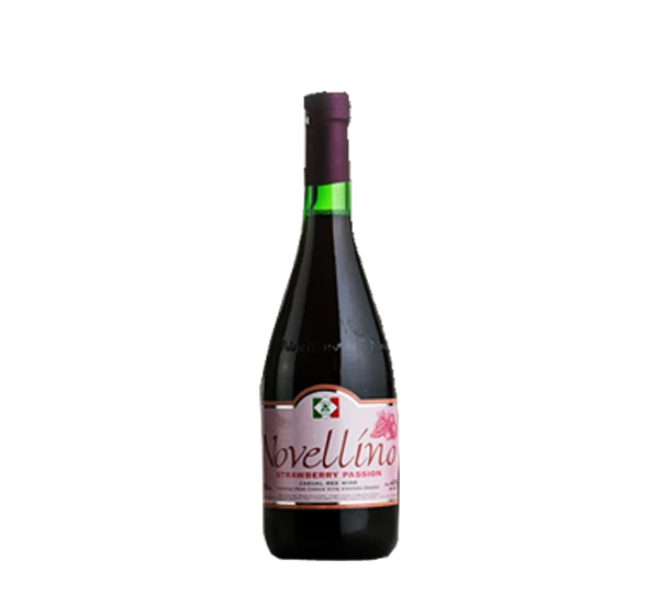 NOVELLINO CASUAL RED WINE STRAWBERRY 750ML