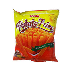 OISHI POTATO FRIES CHEESE 25G