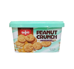 FIBISCO PEANUT CRUNCH COOKIES 600G