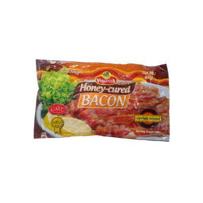 VIRGINIA FOODS BACON HONEY-CURED 400G
