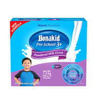 BONAKID PRE-SCHOOL 3+ STAGE 4 1.2 KGS POWDERED MILK DRINK FOR CHILDREN OVER 3 YEARS OLD