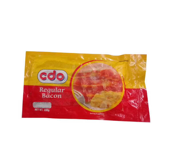 CDO  BACON REGULAR 200G