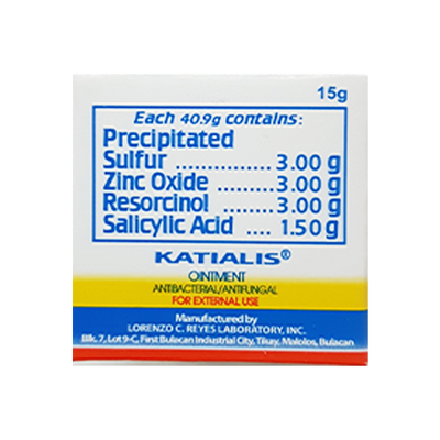 KATIALIS OINTMENT 5G/15G