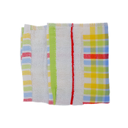 CHECKERED FACE TOWEL