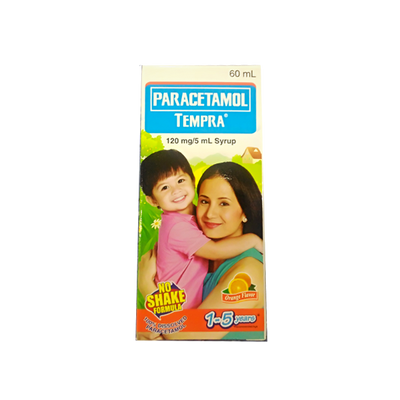 TEMPRA ORANGE SYRUP 60ML